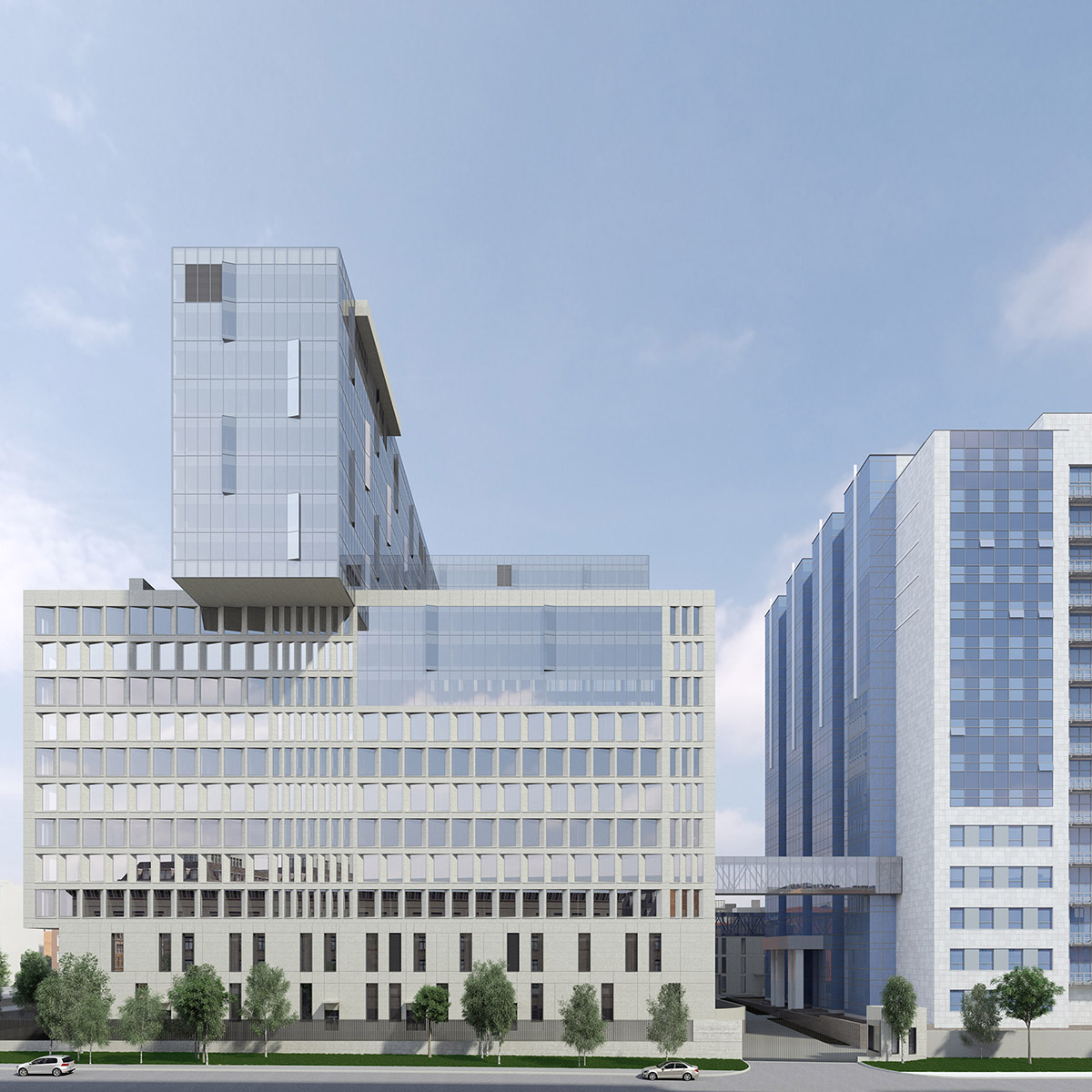 Строительство комплекса зданий Следственного Комитета Российской Федерации планируется рядом с существующим зданием СКР в Техническом переулке на Севере